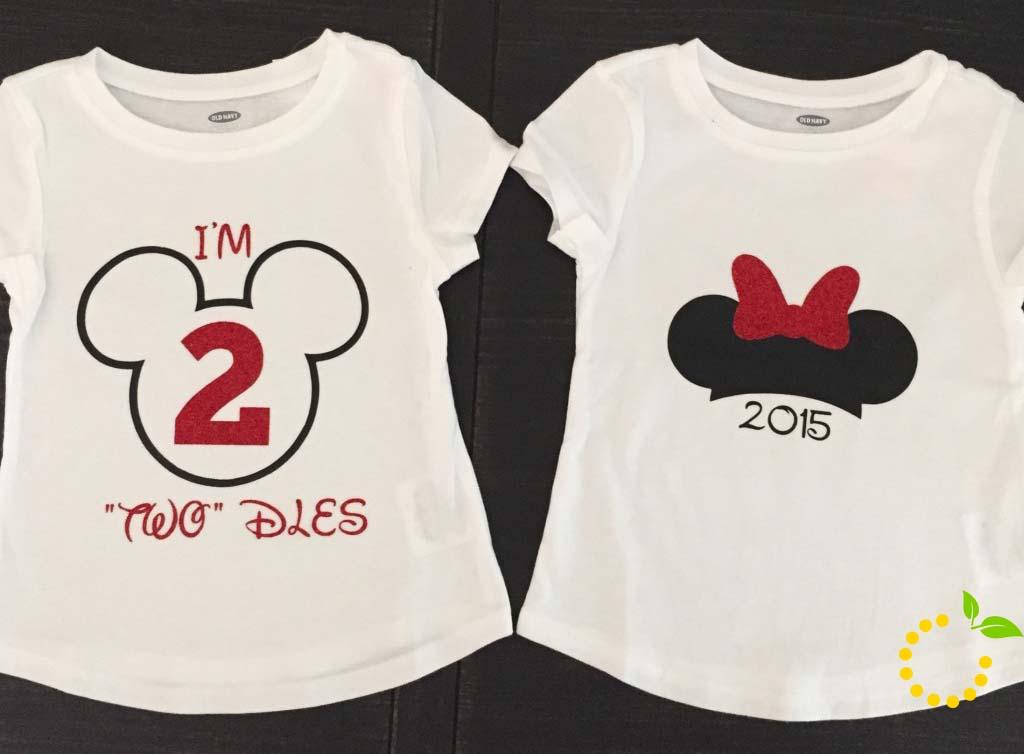 DIY Disneyland T-Shirts sweetlemonmade.com