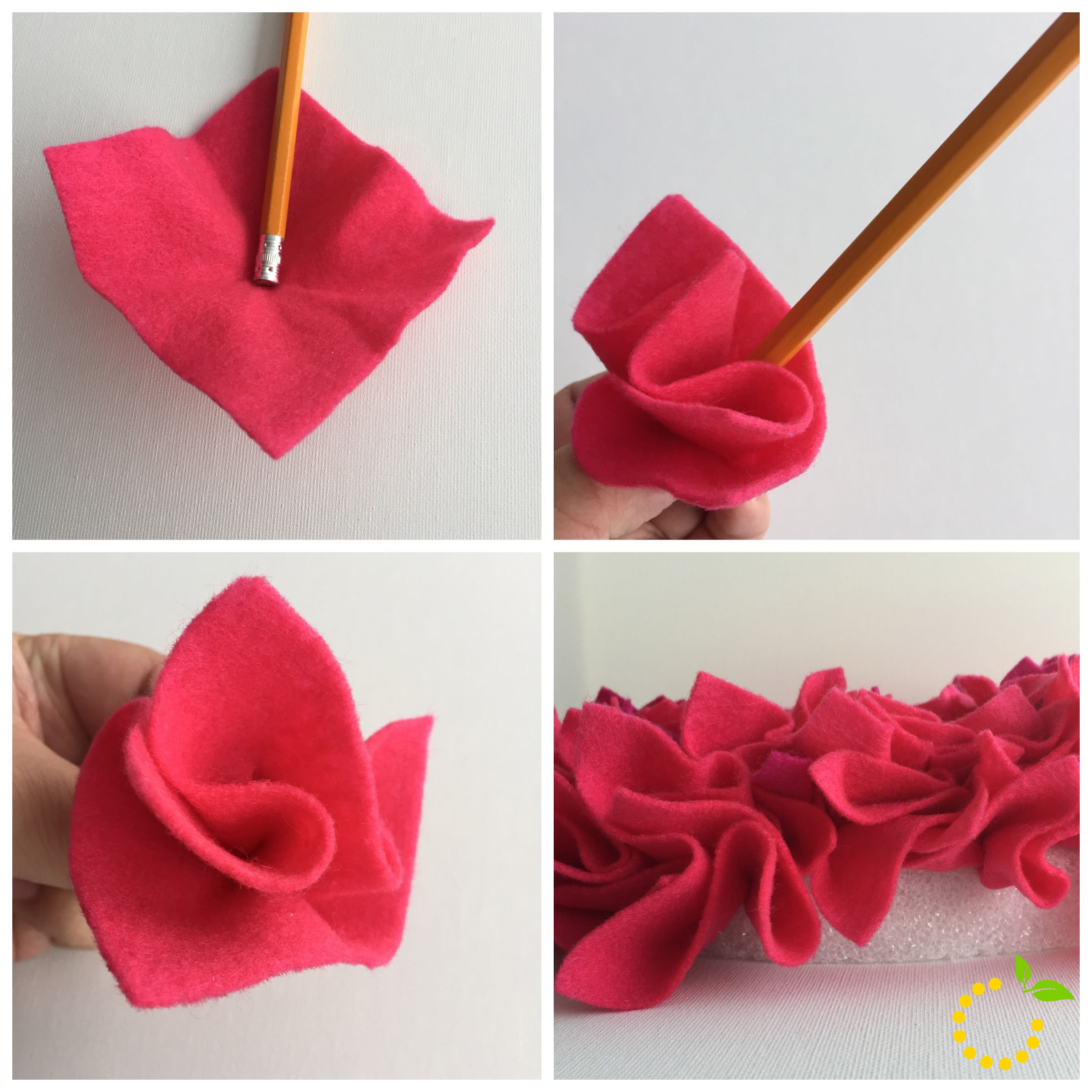 Valentine's DIY Wreath - sweetlemonmade.com