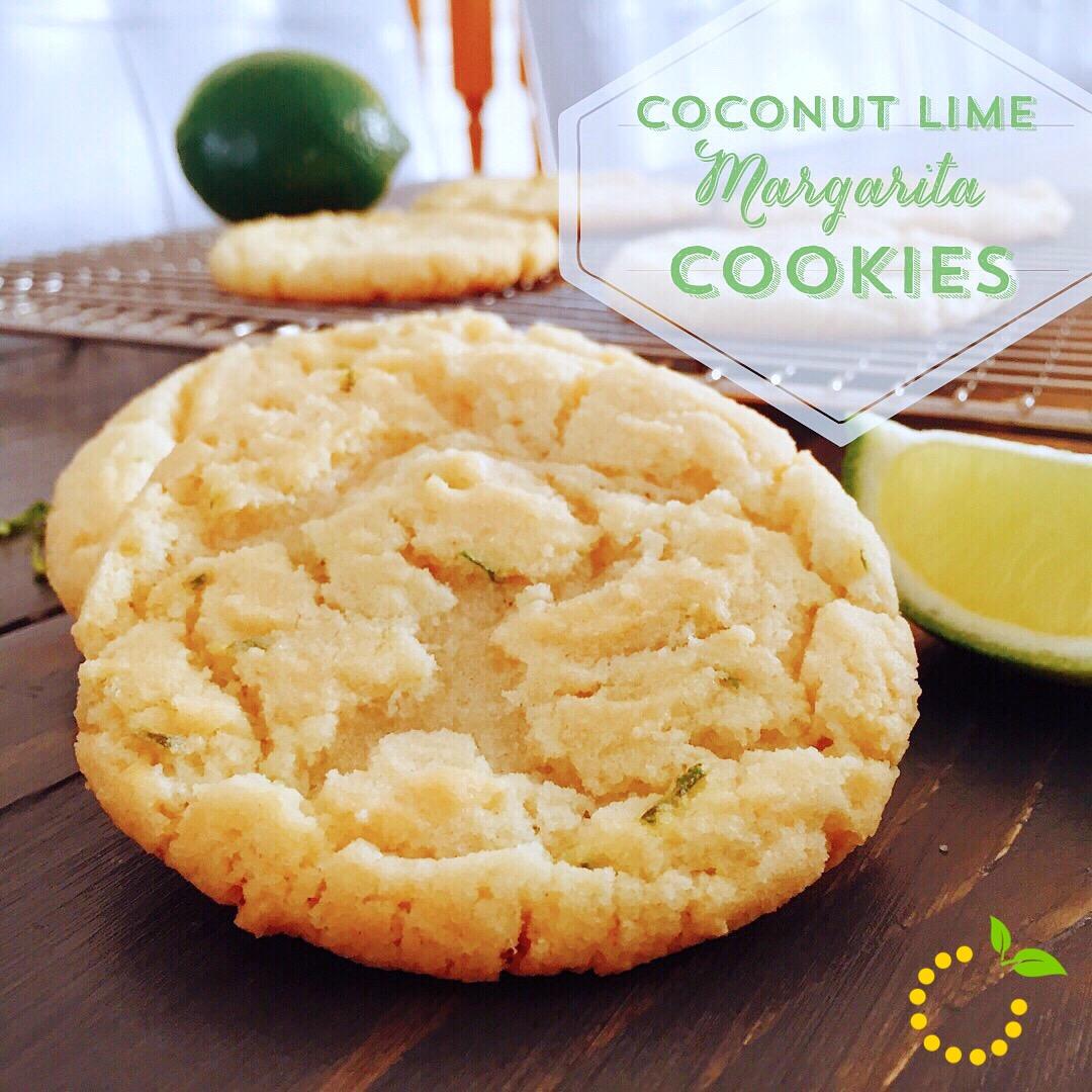 Margarita Cookies sweetlemonmade.com