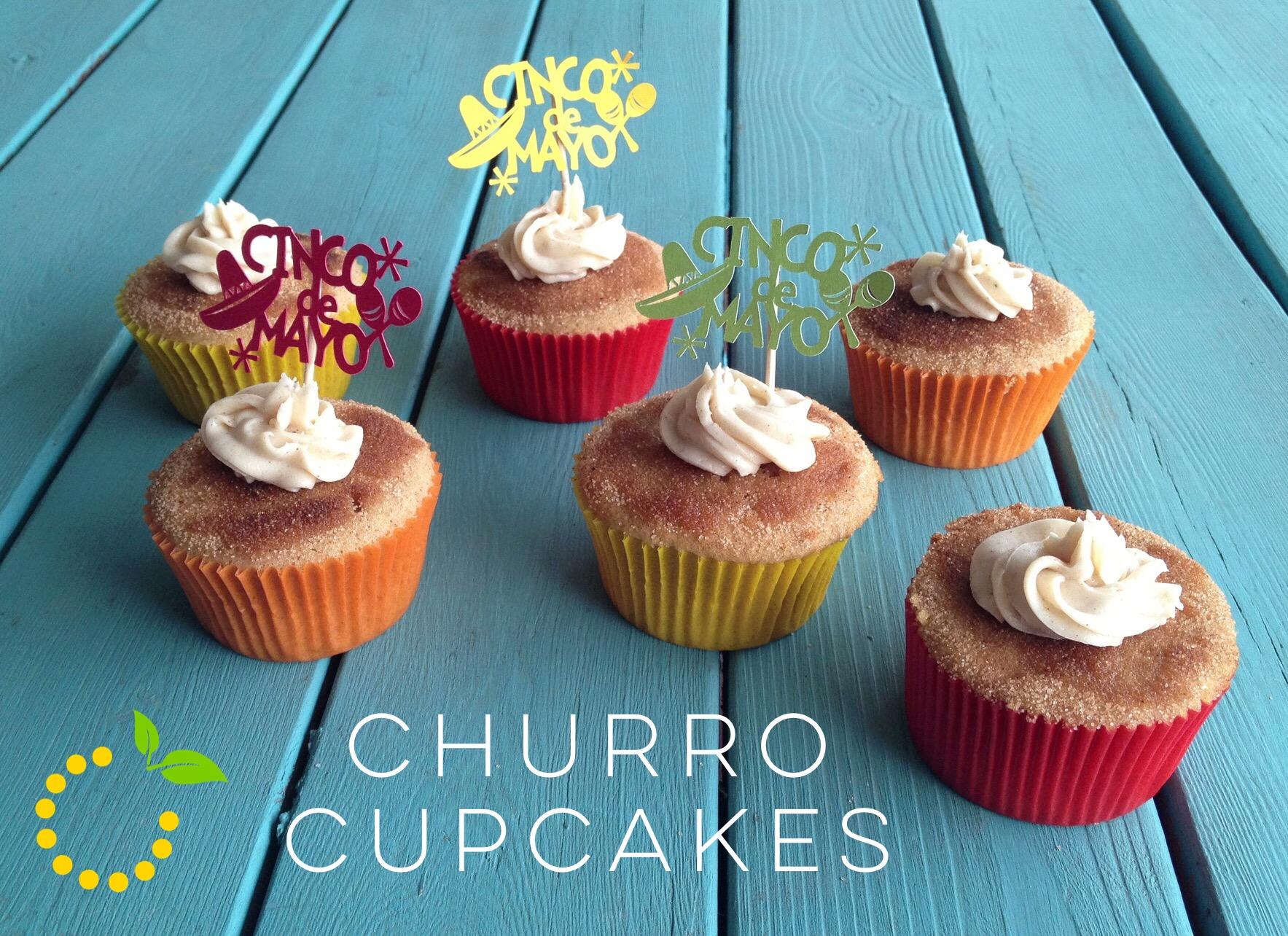 Churro Cupcakes sweetlemonmade.com