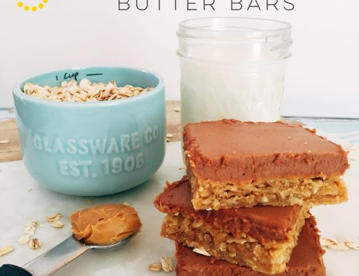 Chocolate Peanut Butter Bars sweetlemonmade.com