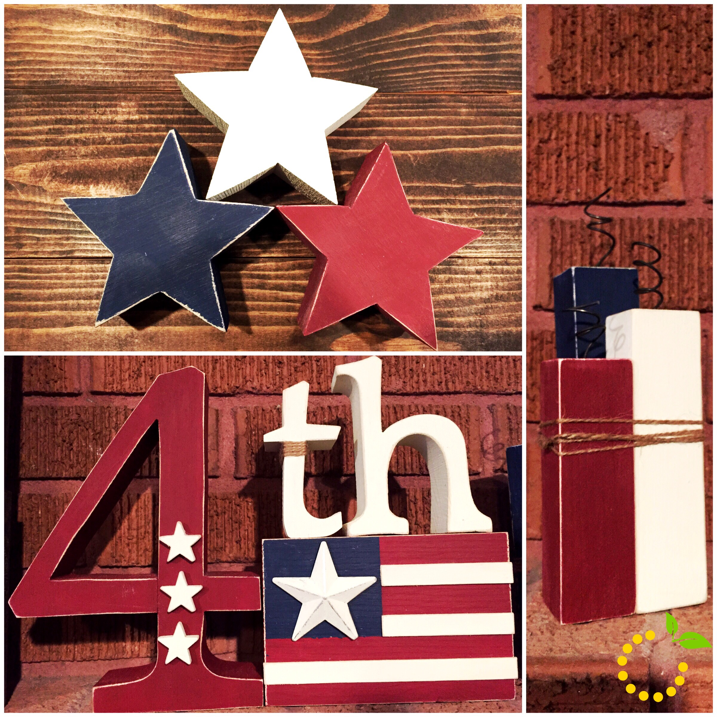 4th of July Collage sweetlemonmade.com