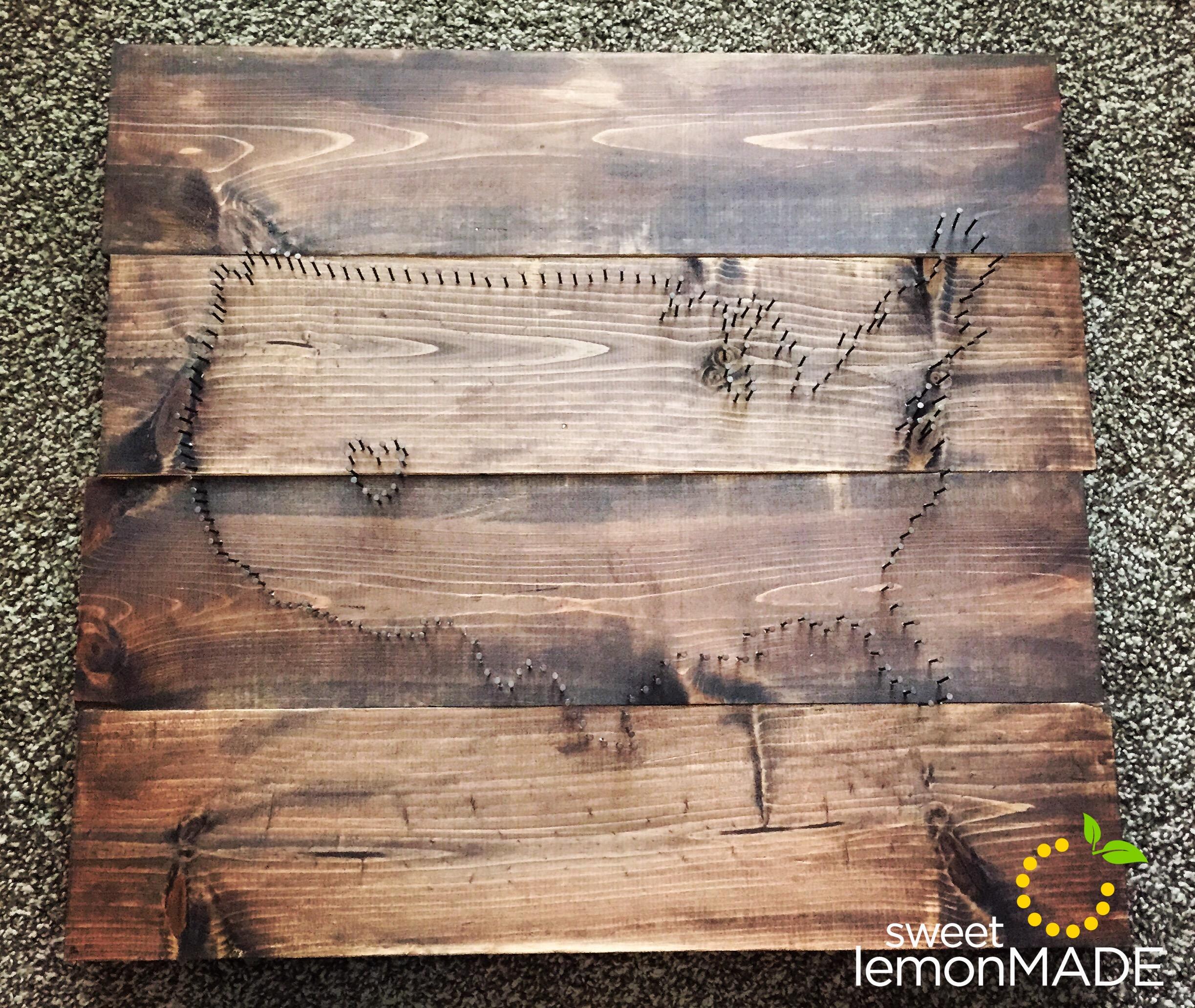 Board with Nails sweetlemonmade.com
