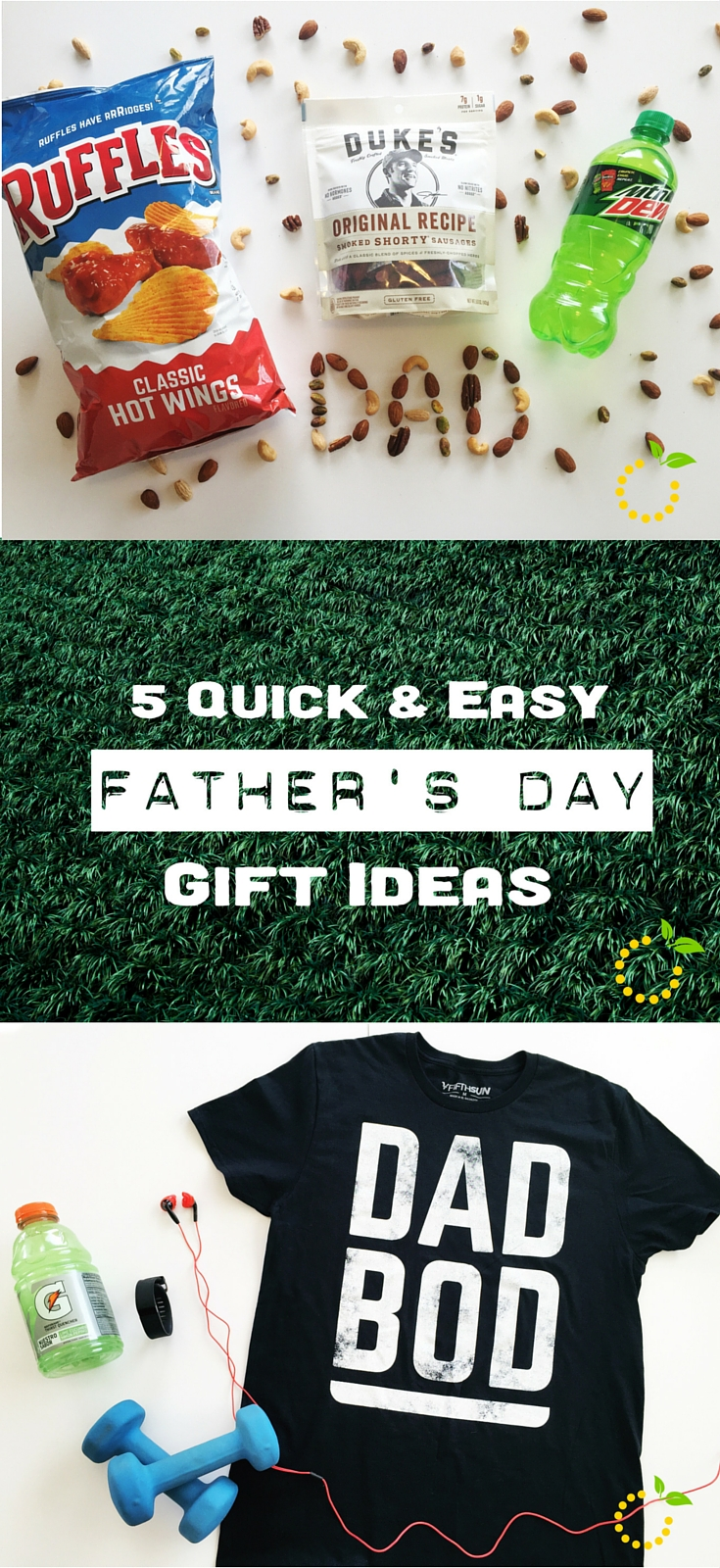 Quick and Easy Father's Day Gift Ideas sweetlemonmade.com