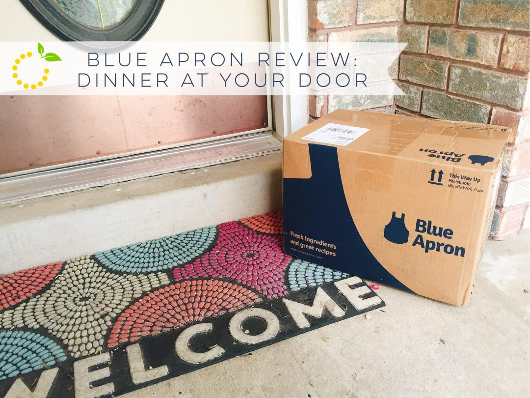 Welcome Blue Apron sweetlemonmade.com