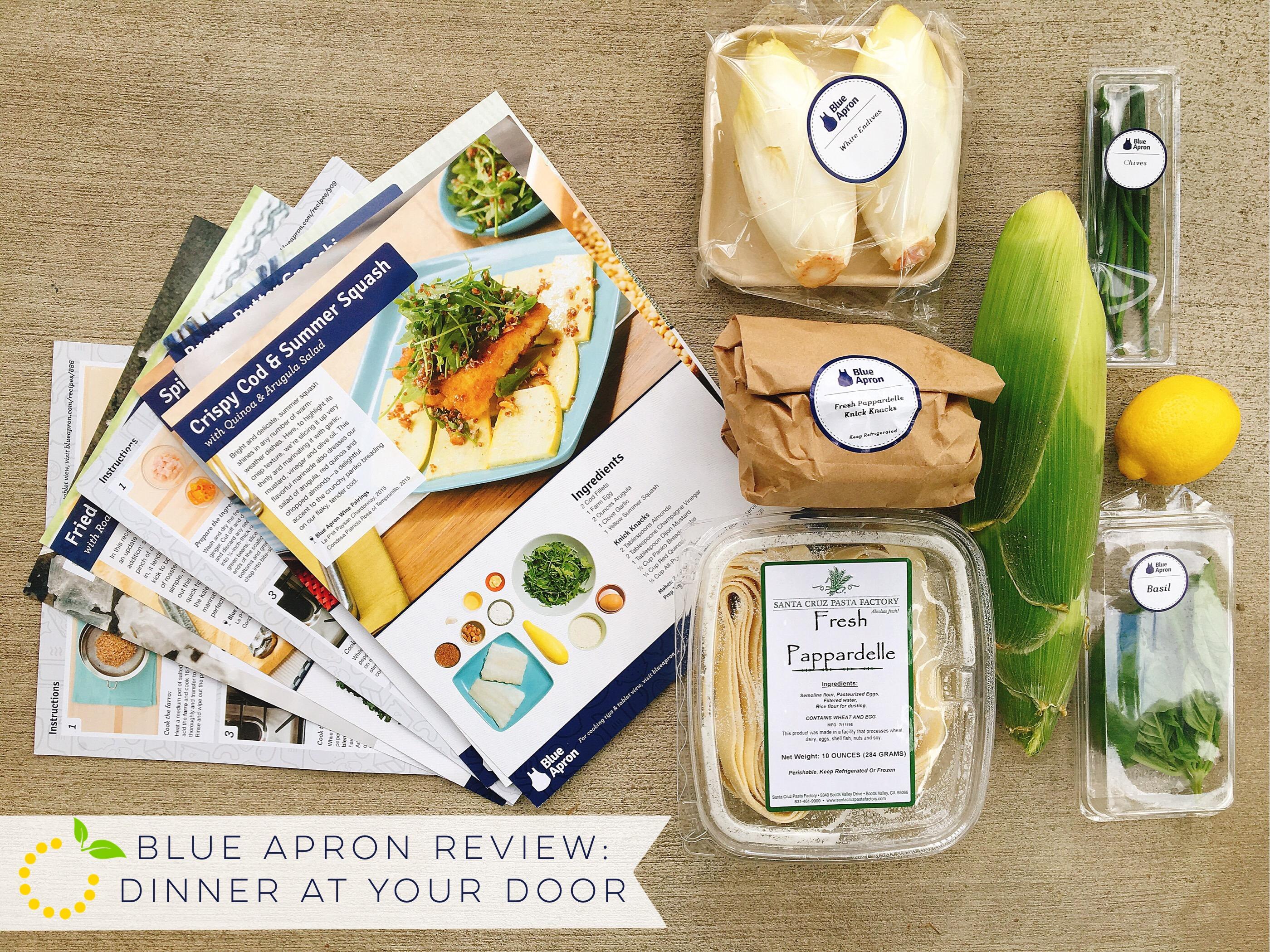 Blue Apron sweetlemonmade.com