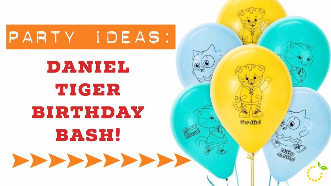 Daniel Tiger Birthday Party Sweet Lemon Made