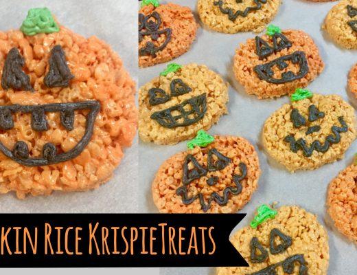 Pumpkin Rice Krispie Treats