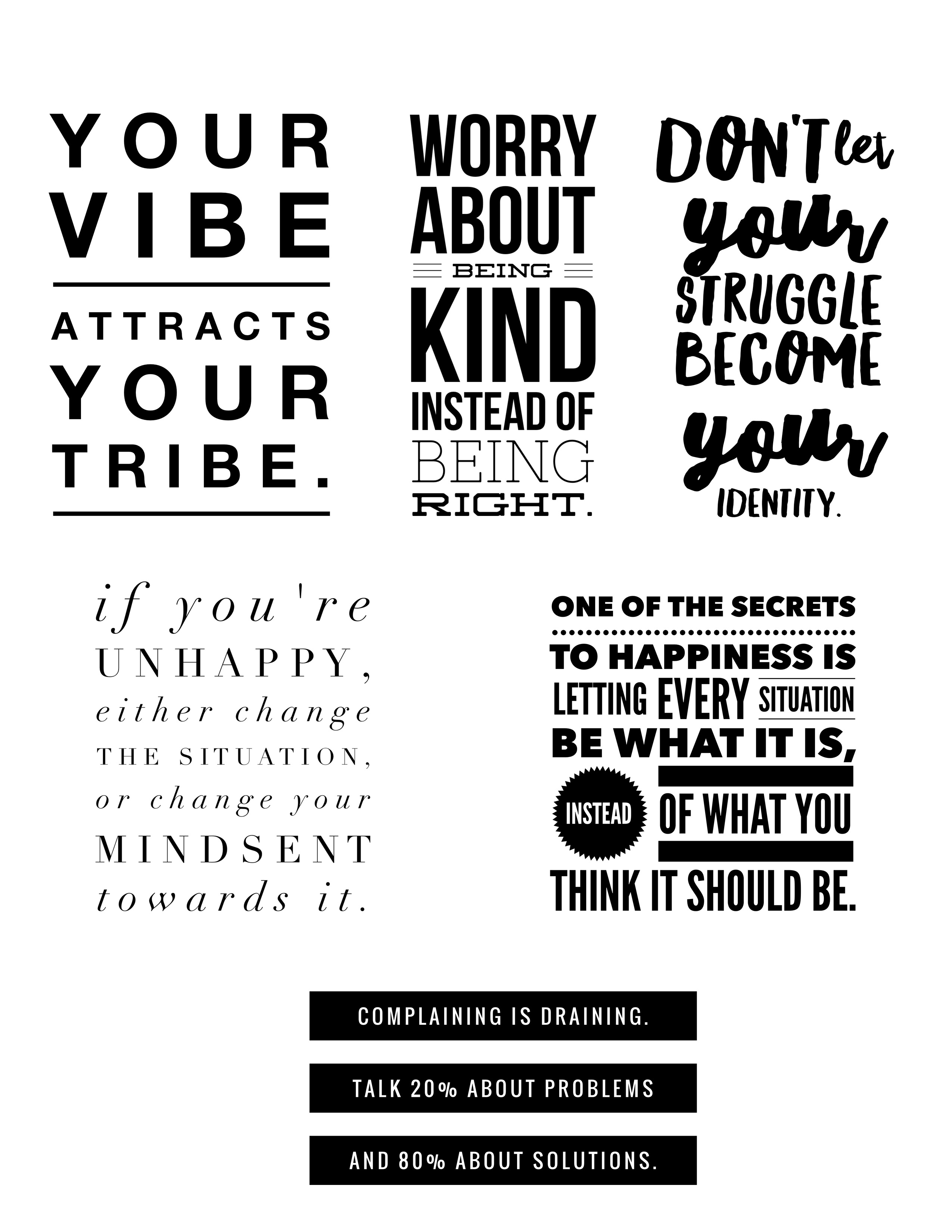 Positivity Quotes sweetlemonmade.com