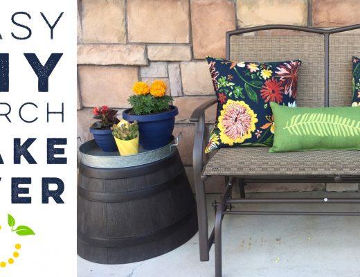 DIY Porch Makeover