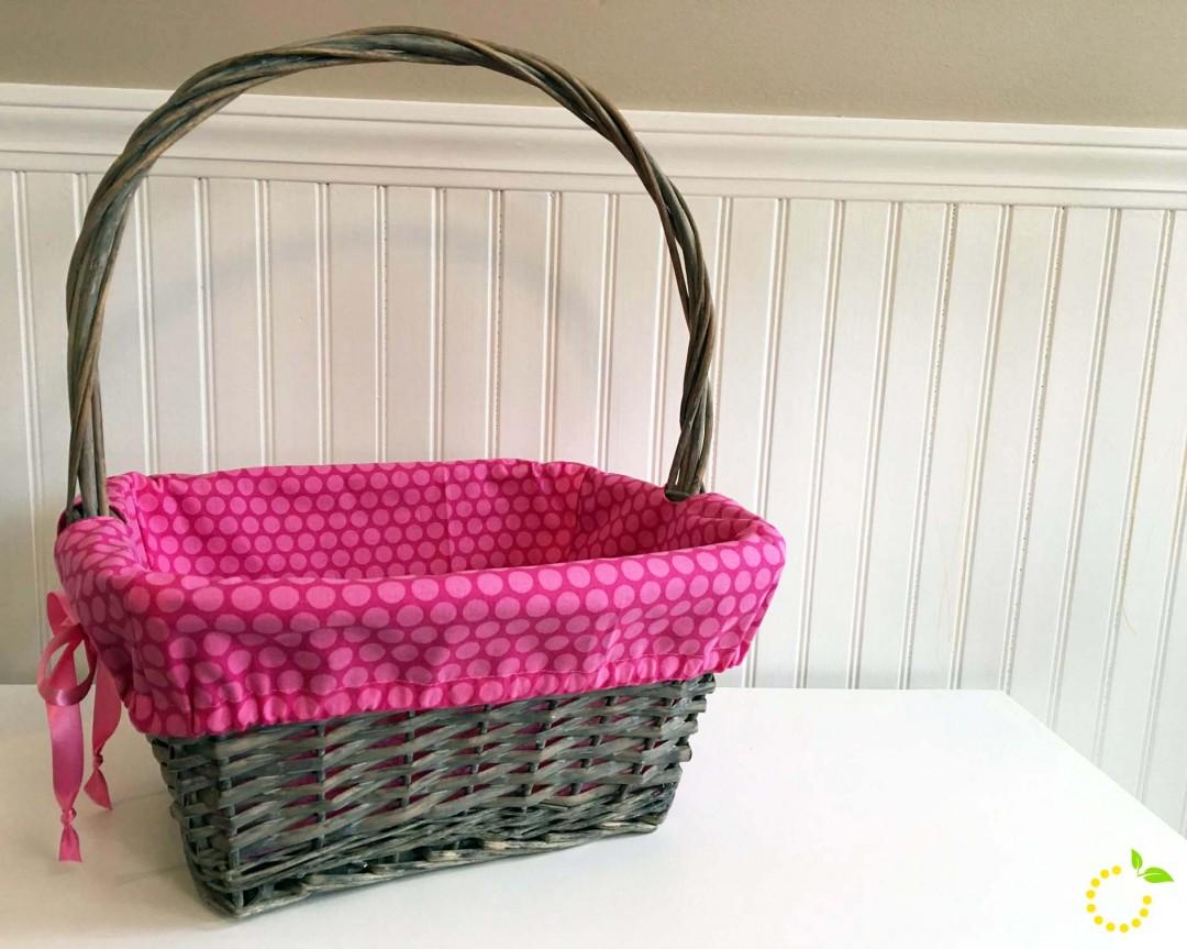 Easter Basket Liner Tutorial sweetlemonmade.com