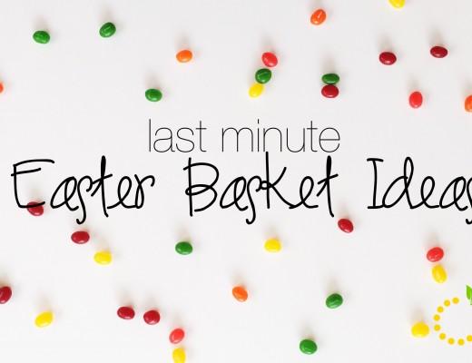 Easter Basket sweetlemonmade.com