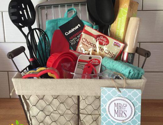 Gift Basket Idea sweetlemonmade.com