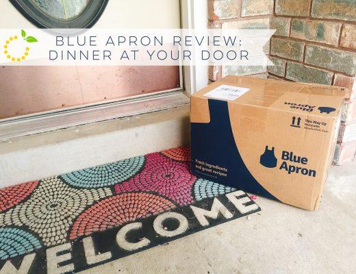 Welcome Blue Apron sweetlemonmade.com