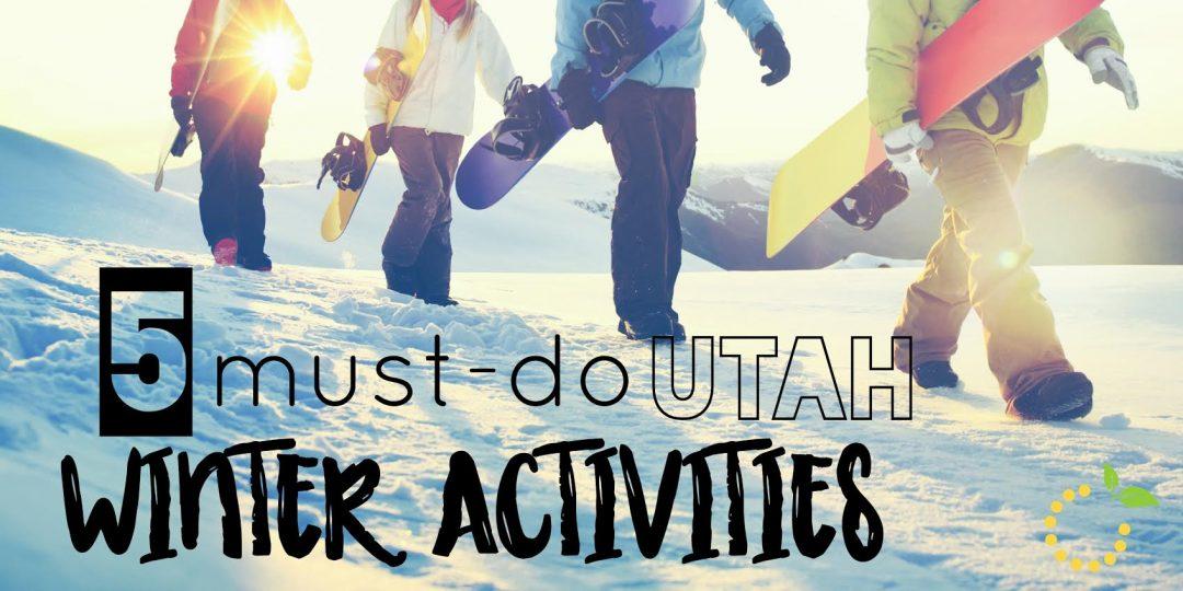 5 Winter Activities sweetlemonmade.com